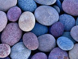I find rocks soothing.
